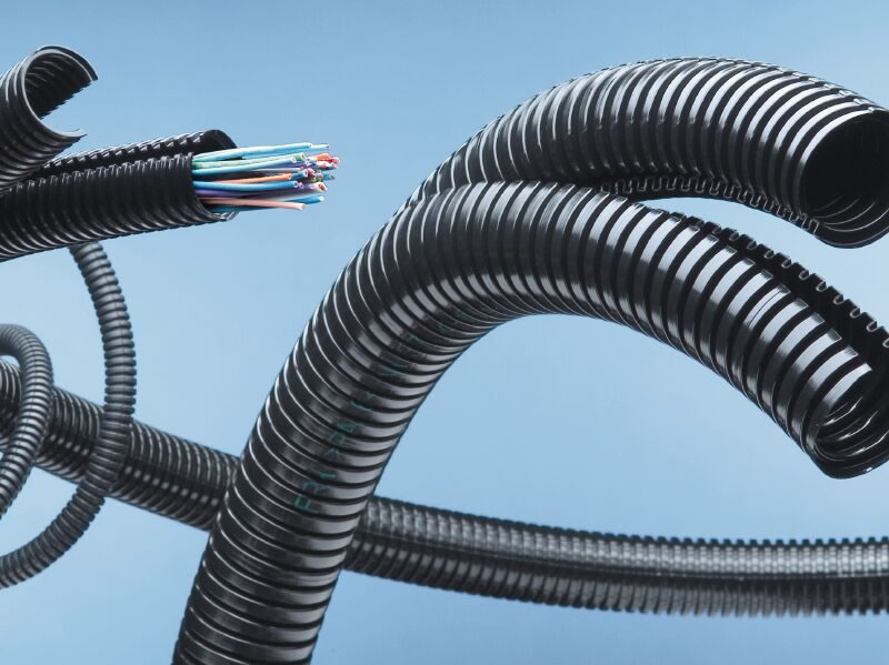 Uv resistant pvc corrugated pipes high density